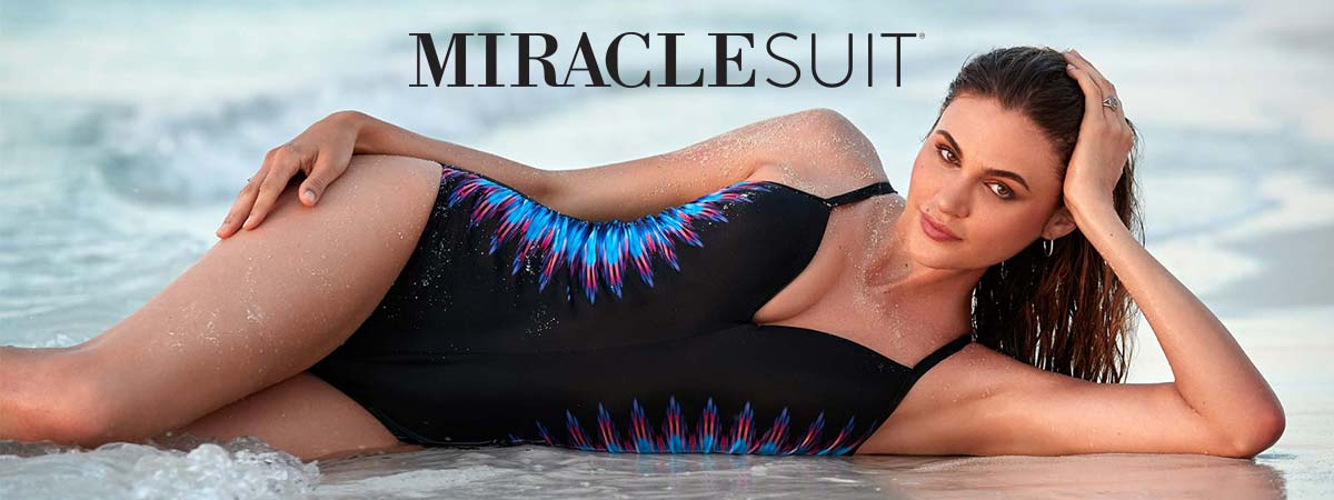 Miraclesuit long tankinis and one piece swimsuits