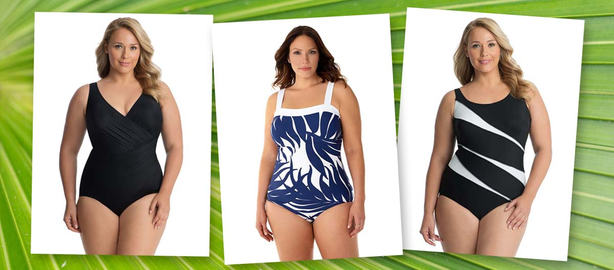 How To Find The Right Plus Size One Piece Swimsuit