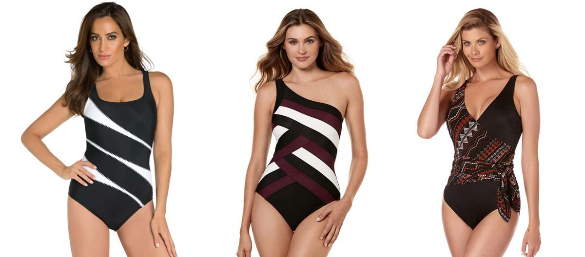 Colorblock Swimsuits